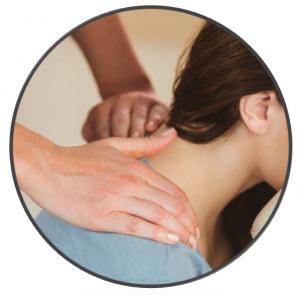 Massage assis chinois de bien-être